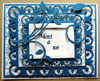 carte spellbinders  fleur de lis et fancyful flourish cheery lynn