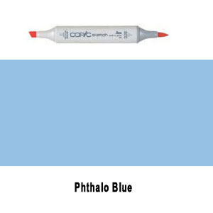 Copic Sketch Phthalo Blue