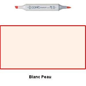 Copic Sketch Blanc Peau