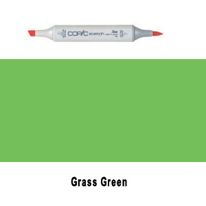 Copic Sketch Grass Green