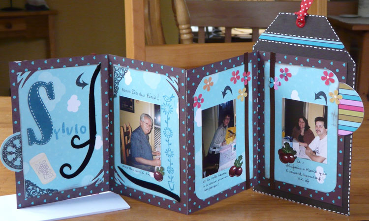 carte scrapbooking album accord on scrapbooking. Black Bedroom Furniture Sets. Home Design Ideas