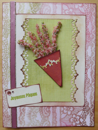 Cartes Flower soft de Pâques