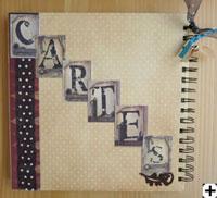 album cartes scrapbooking fin