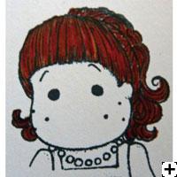 recette Copic Sketch cheveux auburn