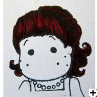 recette Copic Sketch cheveux auburn 3