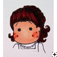 recette Copic Sketch cheveux auburn 4