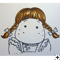 recette Copic Sketch cheveux blonds 2