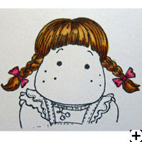 recette Copic Sketch cheveux blonds 4