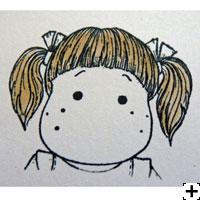 recette Copic Sketch cheveux brun 1