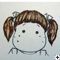 recette Copic Sketch cheveux brun 2