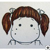 recette Copic Sketch cheveux brun 3