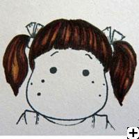 recette Copic Sketch cheveux brun 4
