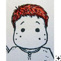 recette Copic Sketch cheveux roux 1