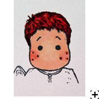 recette Copic Sketch cheveux roux 3