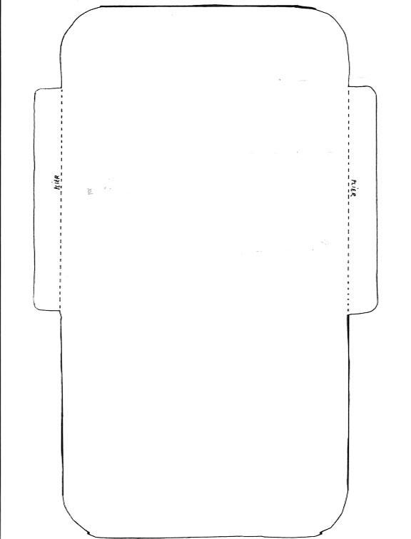 Hervorragend Modèle enveloppe en scrapbooking, gabarit d'enveloppe pour  BY34
