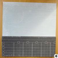 rabbattre papier scrapbooking pour former une pochette