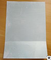 papier de l'album cartes