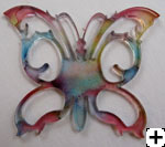 Papillon acrylique et alcohol Ink Herazz