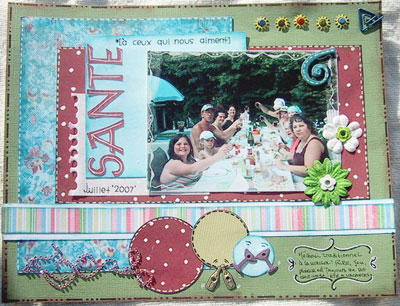 page scrapbooking party de famille en scrapbooking id e scrapbooking. Black Bedroom Furniture Sets. Home Design Ideas