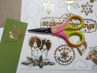 technique peel off décoration enveloppe