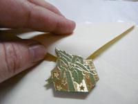 décoration enveloppe avec Peel Off