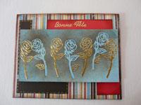 carte peels offs fleur