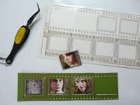 technique petit film scrapbooking
