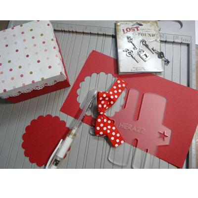 St-Valentin scrapbooking