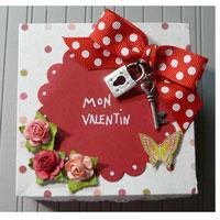 Scrapbooking St-Valentin