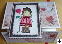modèle carte st-valentin