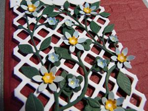 tutoriel fleurs scrapbooking