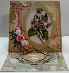 Carte technique scrapbooking UTEE
