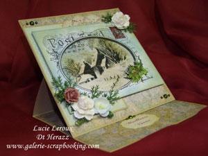 Stampendous Carte Postale Hivernale et utee