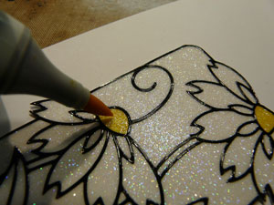 Coloriage copic sur Glitter Ritz