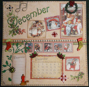 page calendrier 8 x 8 Graphic45