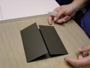 modèle de carte scrapbooking