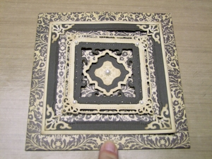 Carte Spellbinders Marvelous Square