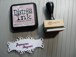 Encre distress Victorian Velvet