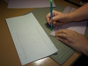 tutoriel carte scrapbooking