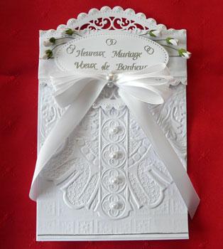 Tutoriel carte de mariage