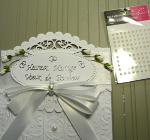 perles want2scraps et Melissa Frances