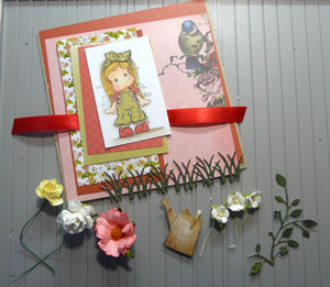 montage de carte paper piecing