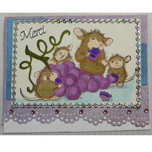 liquid applique scrapbooking