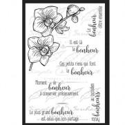 Simple à Souhait Étampe Souhaits fleuris #2