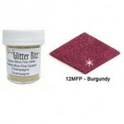 Glitter Ritz Micro Fine Burgundy