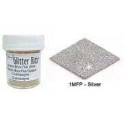 Glitter Ritz Micro Fine Argent