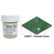 Glitter Ritz Micro Fine Émeraude