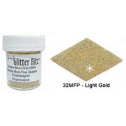Glitter Ritz Micro Fine Light Gold