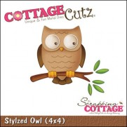 CottageCutz Hibou stylisé