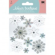 Jolee's Autocollants Flocons scintillants